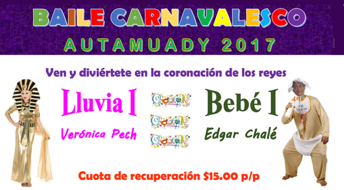 Carnaval AUTAMUADY 2017