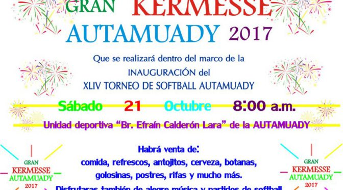 Gran Kermesse Autamuady 2017