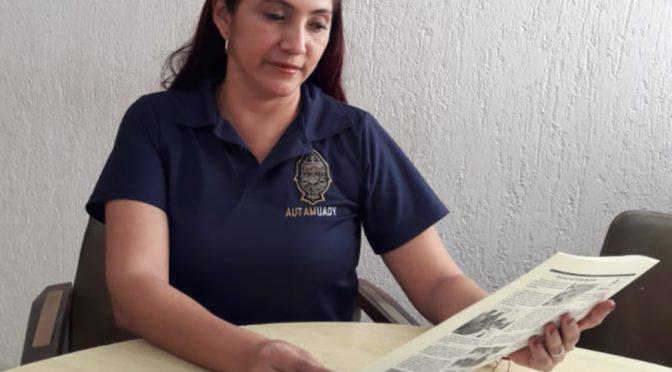 Sofía Ayil Sierra, secretaria general del organismo universitario. Joaquín Chan